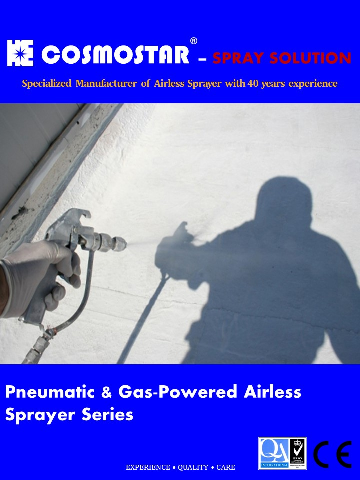 Brochure Airless Sprayer