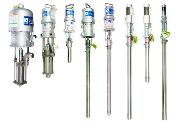 Pneumatic Piston Pumps