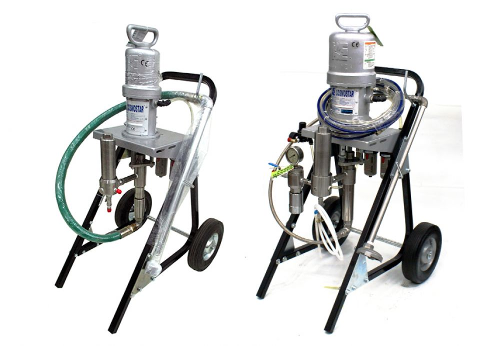 "AA1450-SUS 4"" 23:1 Air Assisted Airless Sprayer"